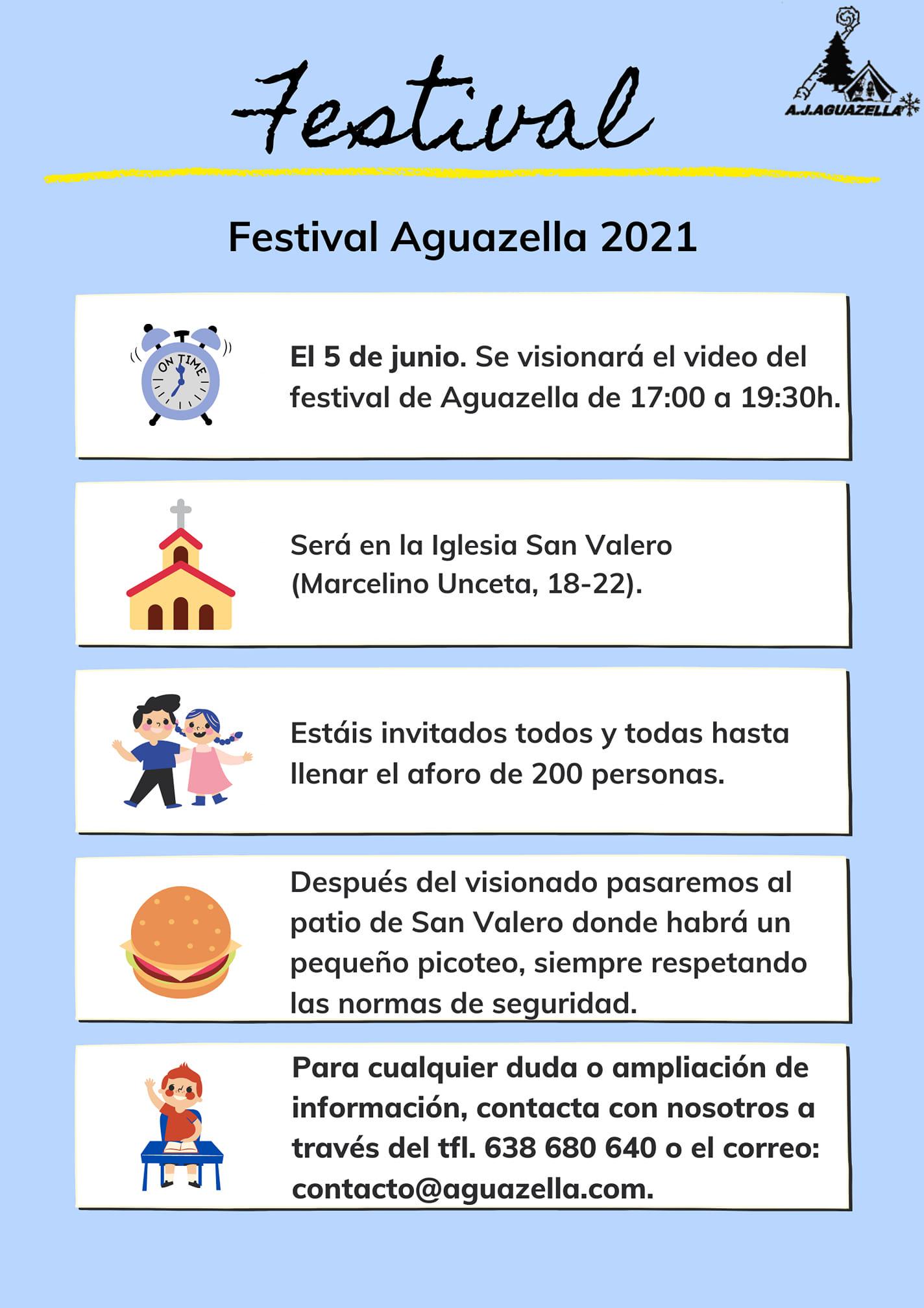 Festival Aguazella 2021