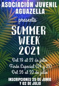 summer week 2021
